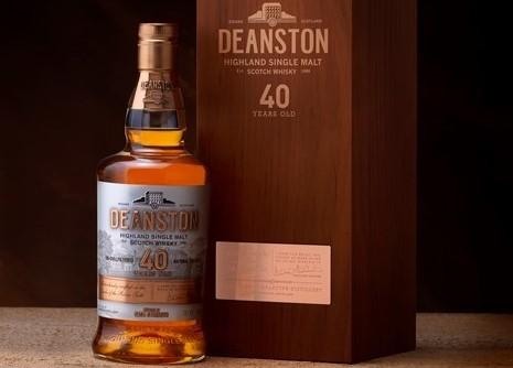 Deanston whisky bottle
