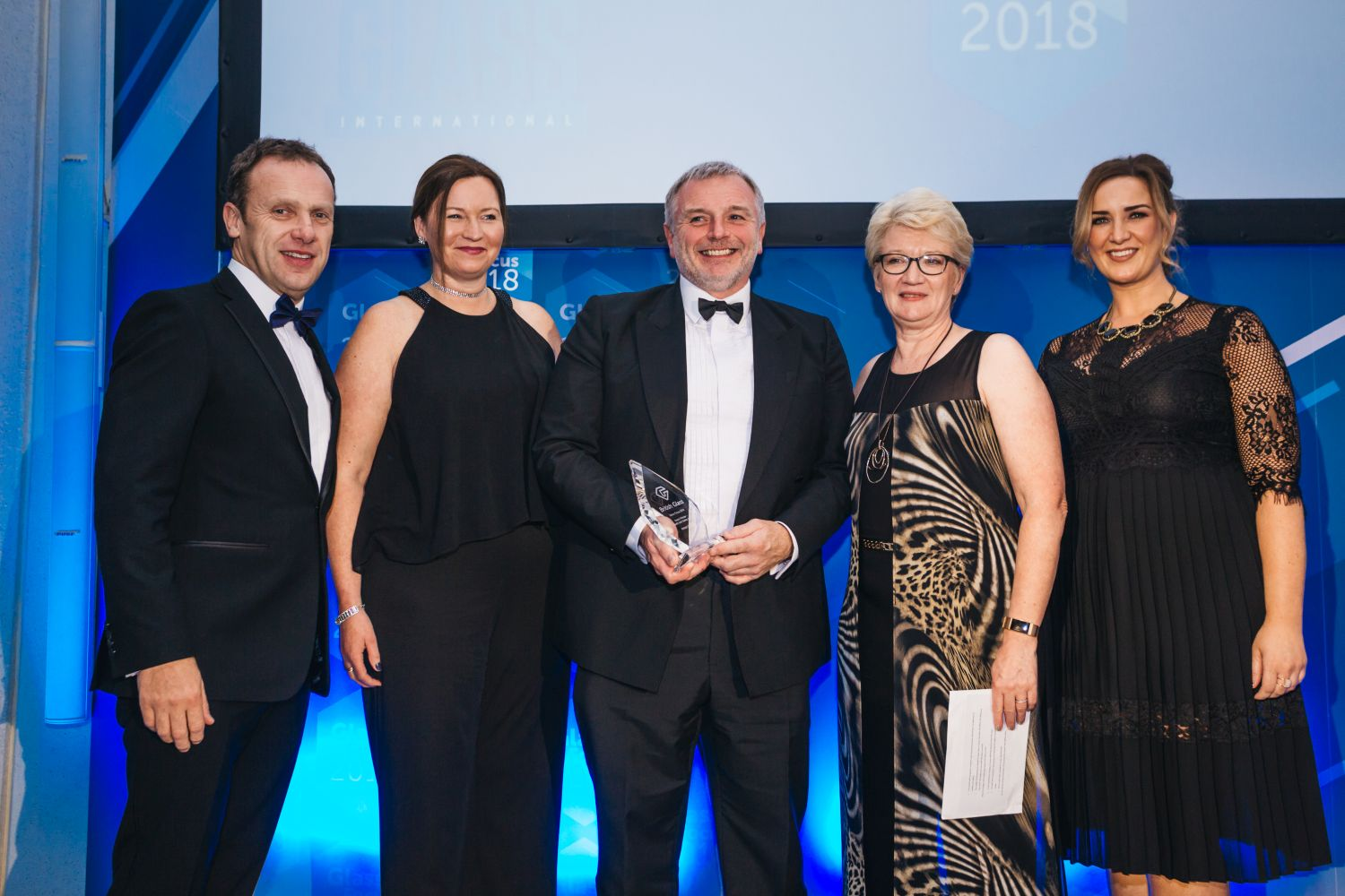 Health and Safety Action Winner Ardagh Group with Diane Julian and Leigh Hardie of Arco