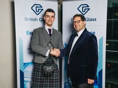British Glass has appointed Matthew Demmon (right) of MKD32 as its new president