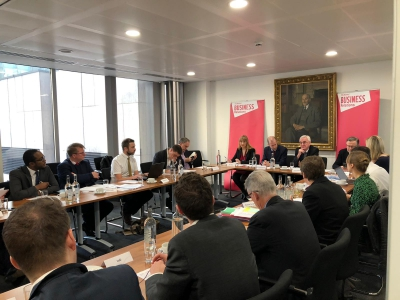 British Glass represents members at Labour manifesto engagement day.
