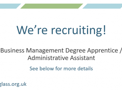 We're recruiting for a Business Management Degree Apprentice/Administrative Assistant