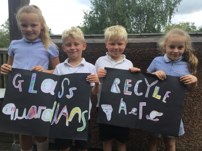 Schools around the country have taken recycling into their own hands through our Glass Guardians campaign.