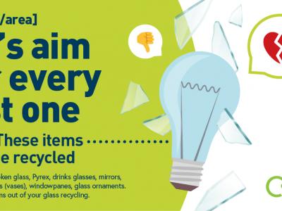 British Glass and Friends of Glass have teamed up with WRAP and Recycle Now for a set of glass recycling resources aimed at local authorities and businesses