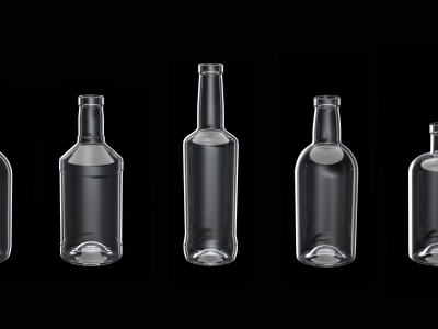 Aegg Creative Packaging is expanding into spirits bottle packaging with a new range of 5 off-the-shelf glass spirits bottles.
