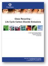Glass recycling - life cycle carbon dioxide emissions