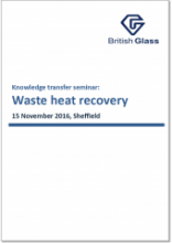Waste heat recovery seminar slides